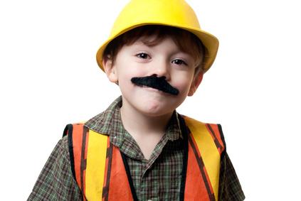 awaryjne wąsy – przebranie halloween charakteryzacja