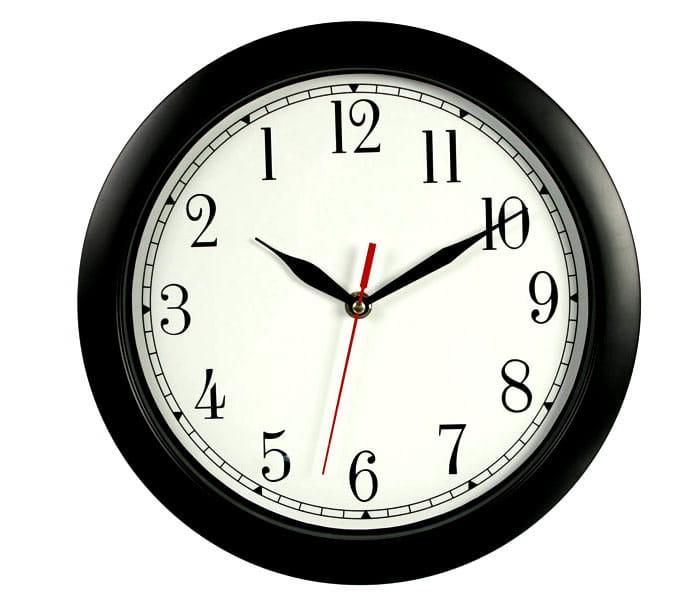 Zegar cofajacy czas