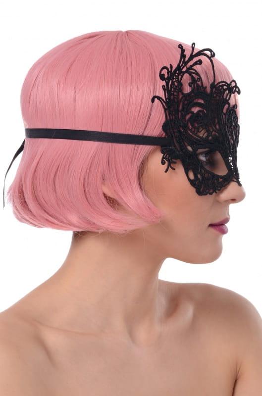 Maska koronkowa karnawałowa