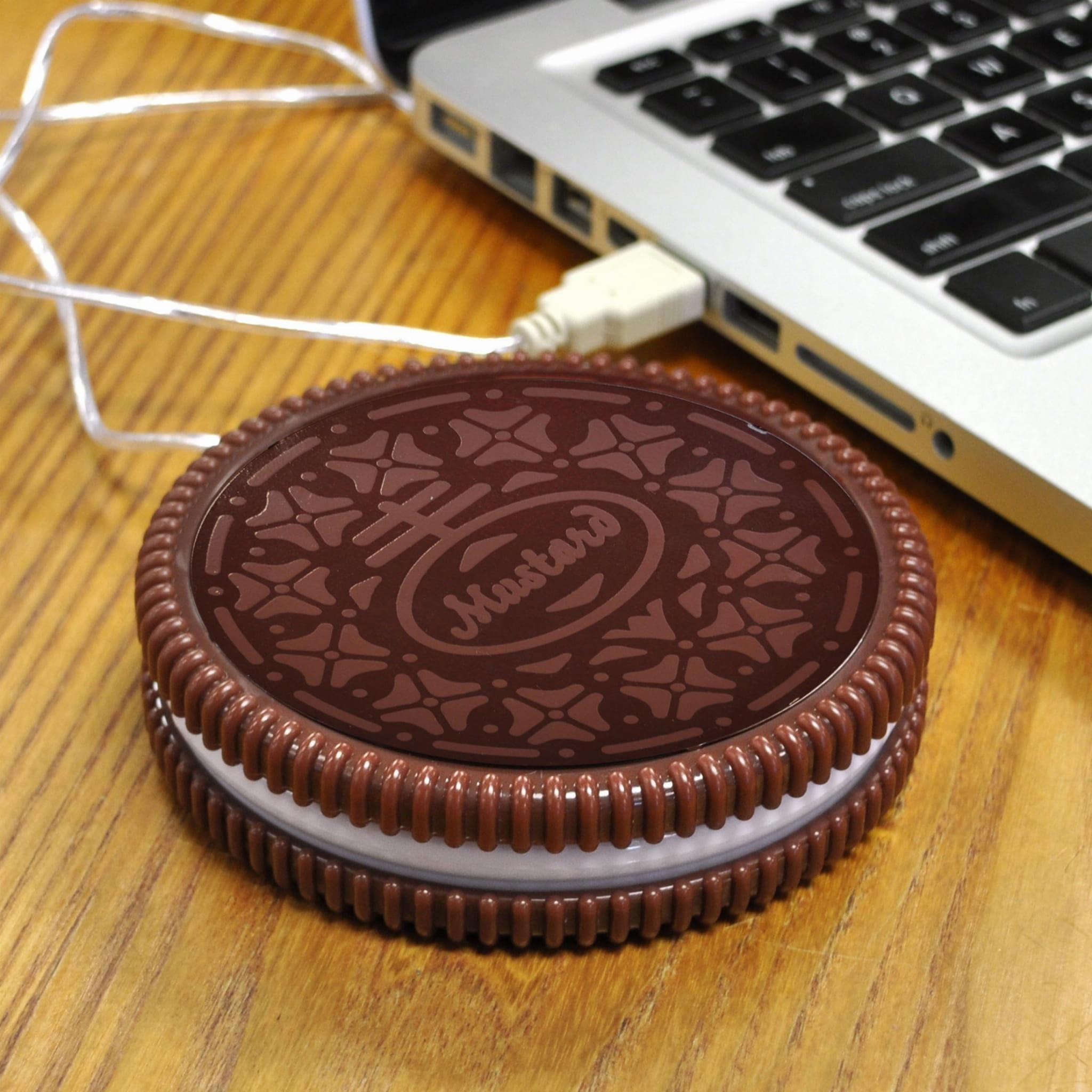 Podgrzewacz USB pod kubek ciasteczko