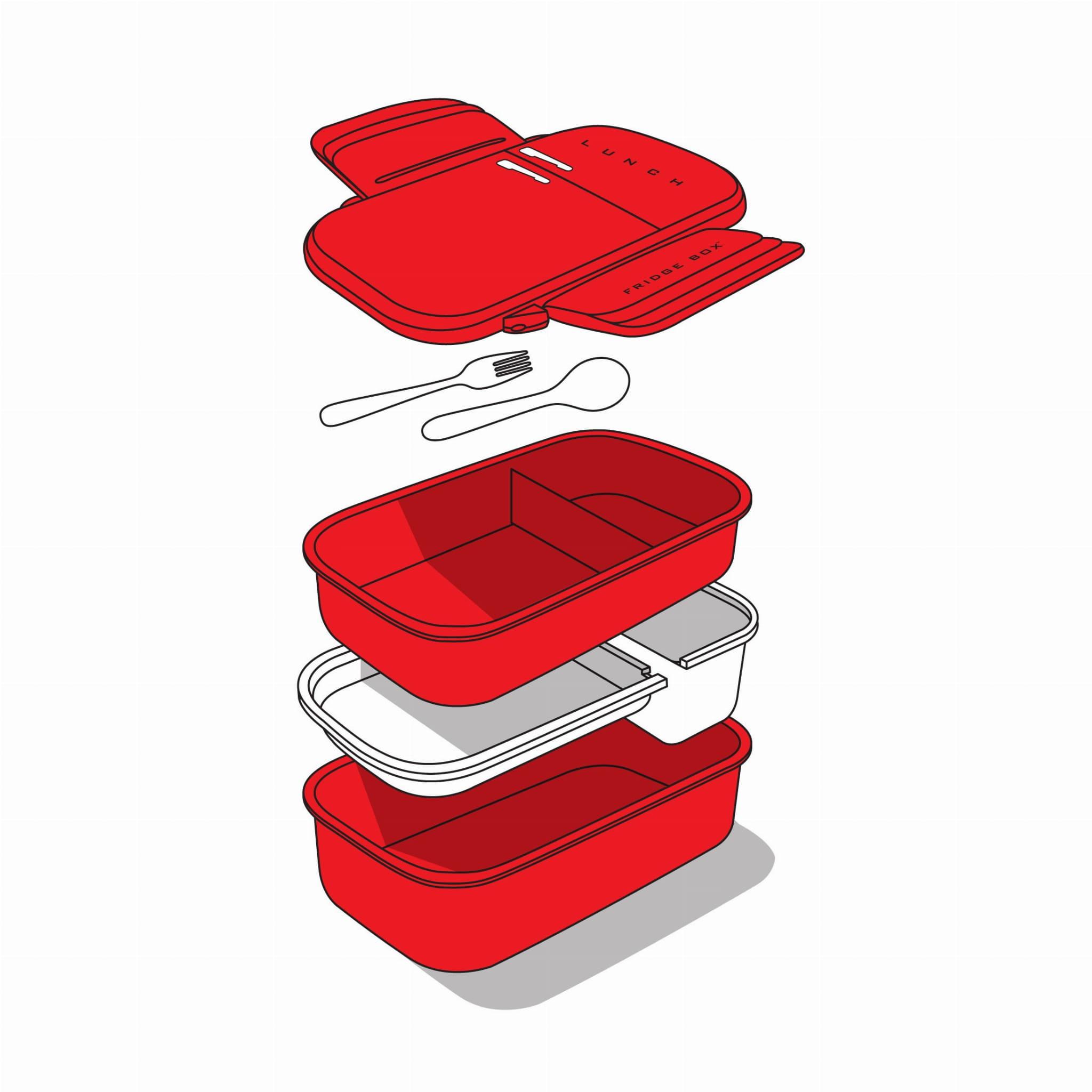 Pojemnik na lunch LUNCHBOX lodówka śniadaniówka