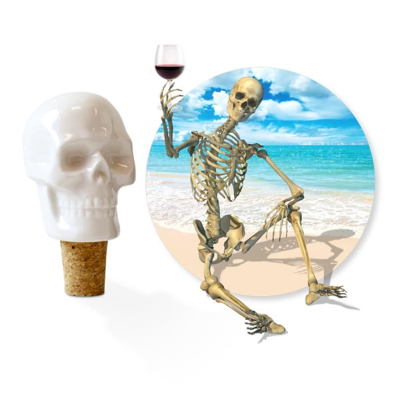 Porcelanowa zatyczka do wina