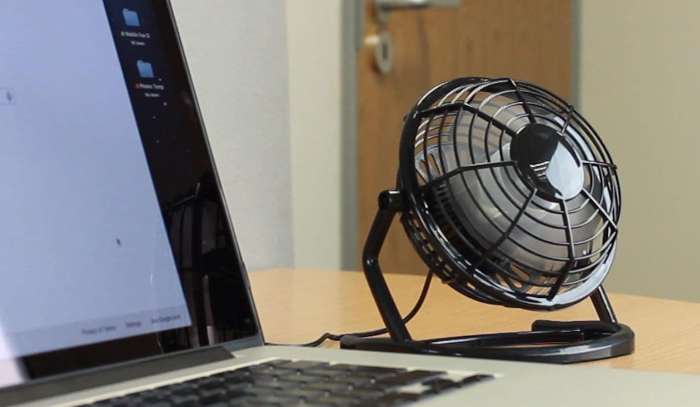 Wiatraczek USB wiatrak biurowy wentylator