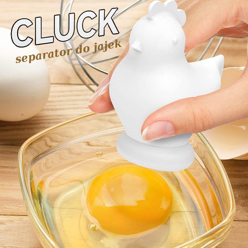 Separator do jajek oddziela żółtko