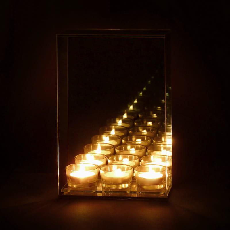 świecznik infinity nieskończoność