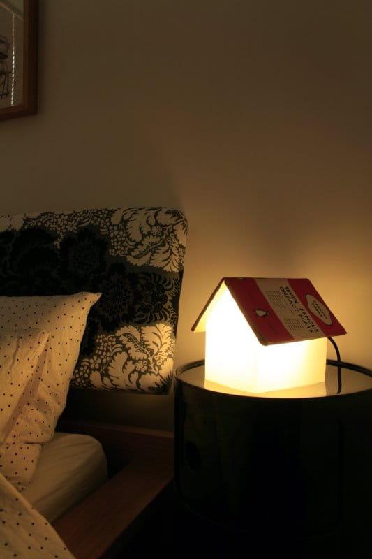Lampka nocna bookrest