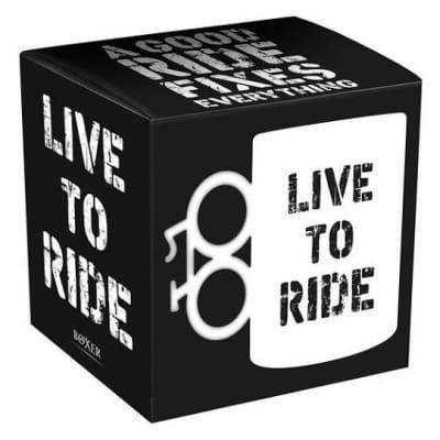Kubek rowerzysty LIVE TO RIDE