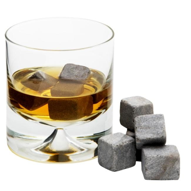 Kamienne kostki do drinków whisky stones