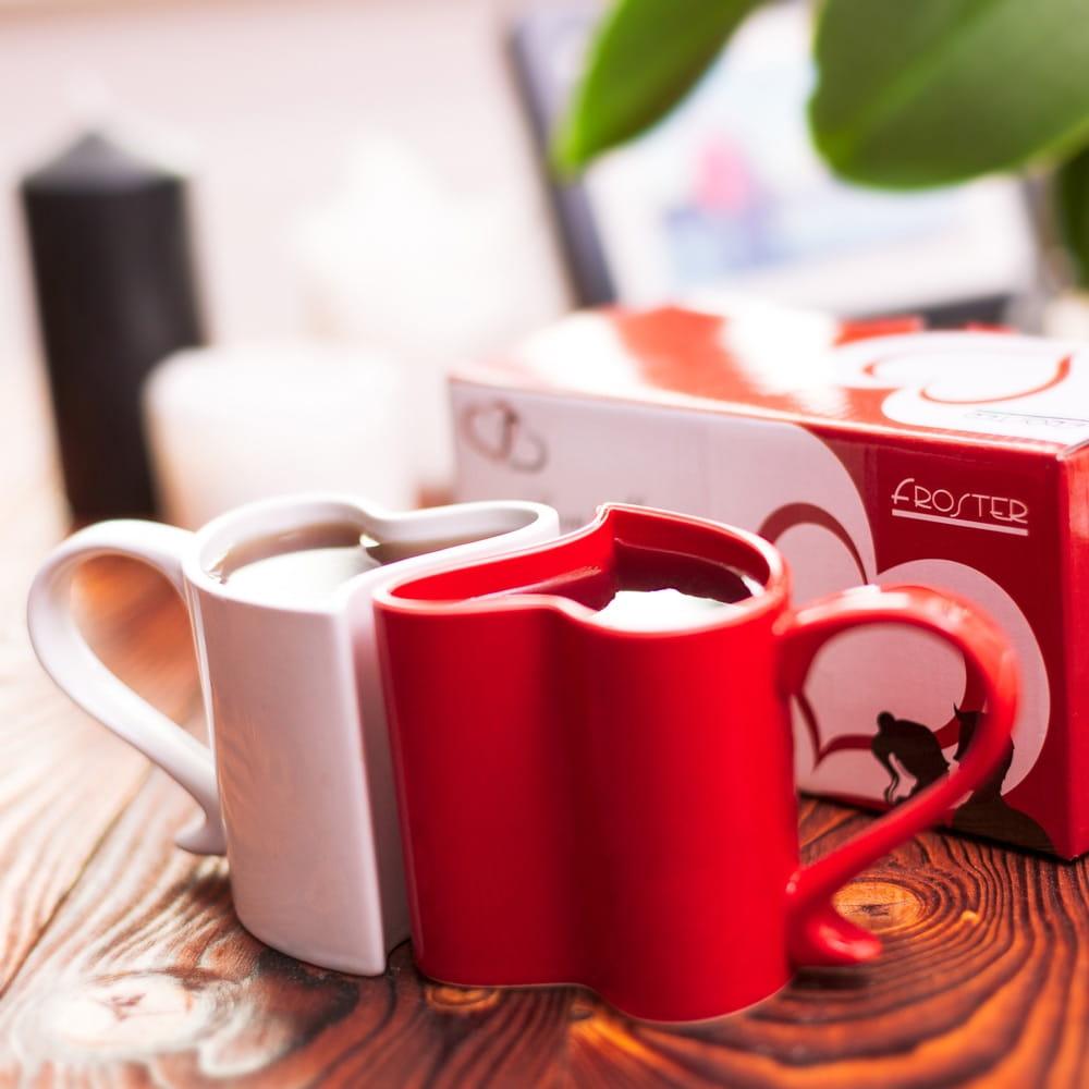 Zakochane kubeczki  na kawe serduszka
