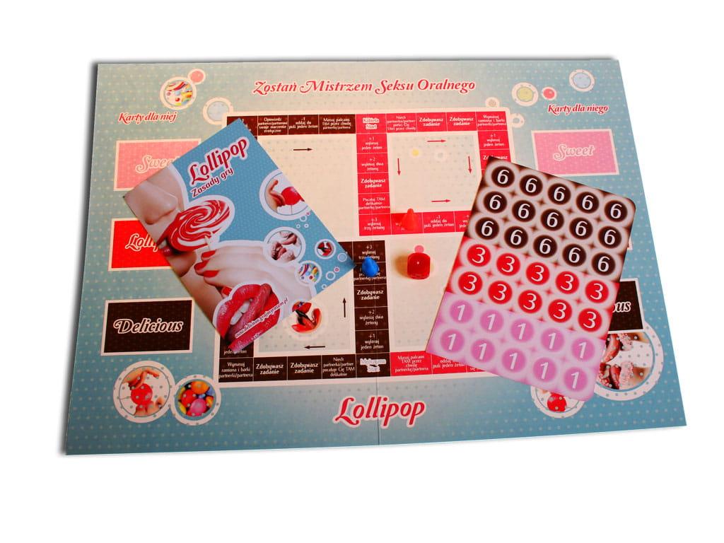 Gra erotyczna lollipop dla par zakochanych