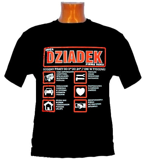 Koszulka dla dziadka