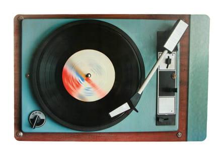 Podkładki na stół gramofon