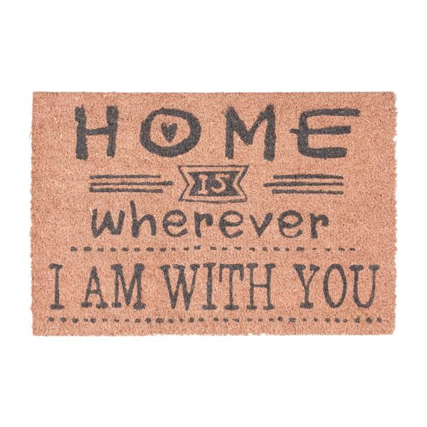 Wycieraczka Home Wherever i'm with you