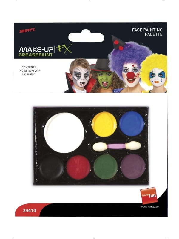 Farbki do malowania twarzy charakteryzacja halloween