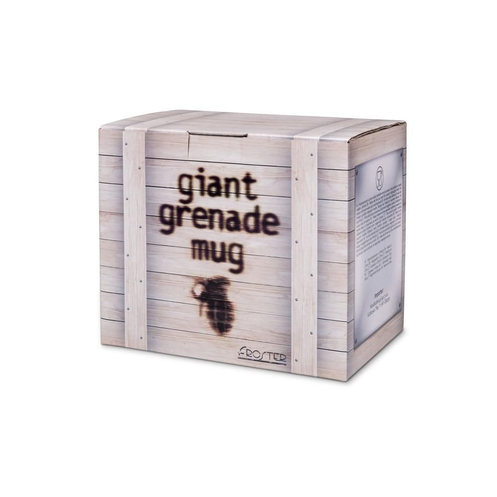 kubek granat gigant