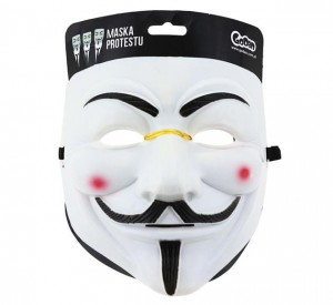 Maska Guy Fawkes - Anonymous