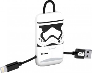 Kabel mini USB  Keyline 22 cm Star Wars - Stormtrooper